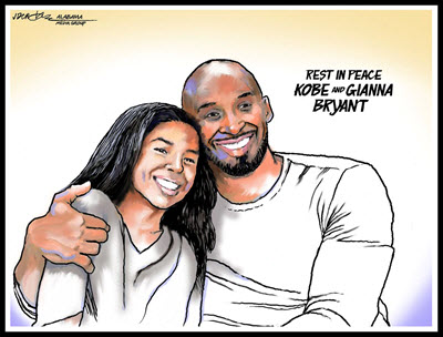 Rest in peace, Kobe and Gianna Bryant