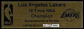 Los Angeles Lakers - 12 Time NBA Champion