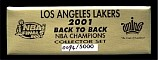 Los Angeles Lakers 2001 - Back to Back